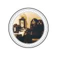 Noir et Or Cercle Immobilier Logo